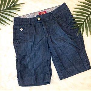 Pants - Jean Bermuda Shorts